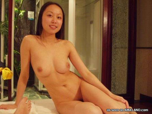 chinese girl working at massage parlor